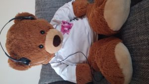 Teddy hilft der Telekom